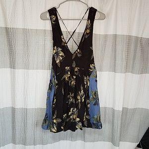 Brand New Free People Black Midi Dress sz XSmall